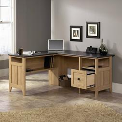L Shaped Desk Computer Workstation Home Office Desks File Dr