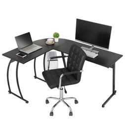 L Shaped Desk Corner Computer Gaming Laptop Table Workstatio