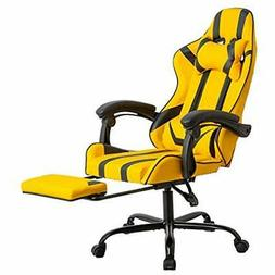 Office Racing Chair Desk Computer Ergonomic Swivel With Back