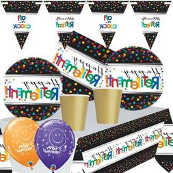 Officially Retired Retirement Themed Party Range, Balloons,
