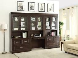 Stanford Transitional Home Office Library Set Finished in Li