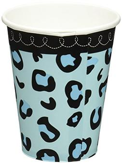 Amscan Sweet Safari Boy Baby Shower Party Paper Cups , 9 oz,