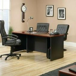 Sauder Via Executive Desk, Black